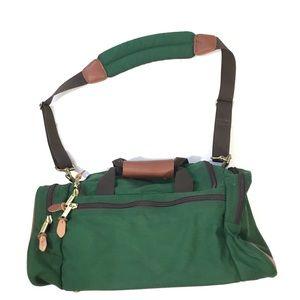 Vintage LL Bean Small Duffle Travel Gym Bag Duffel